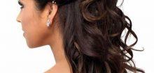 Coiffure pour un mariage invité cheveux long