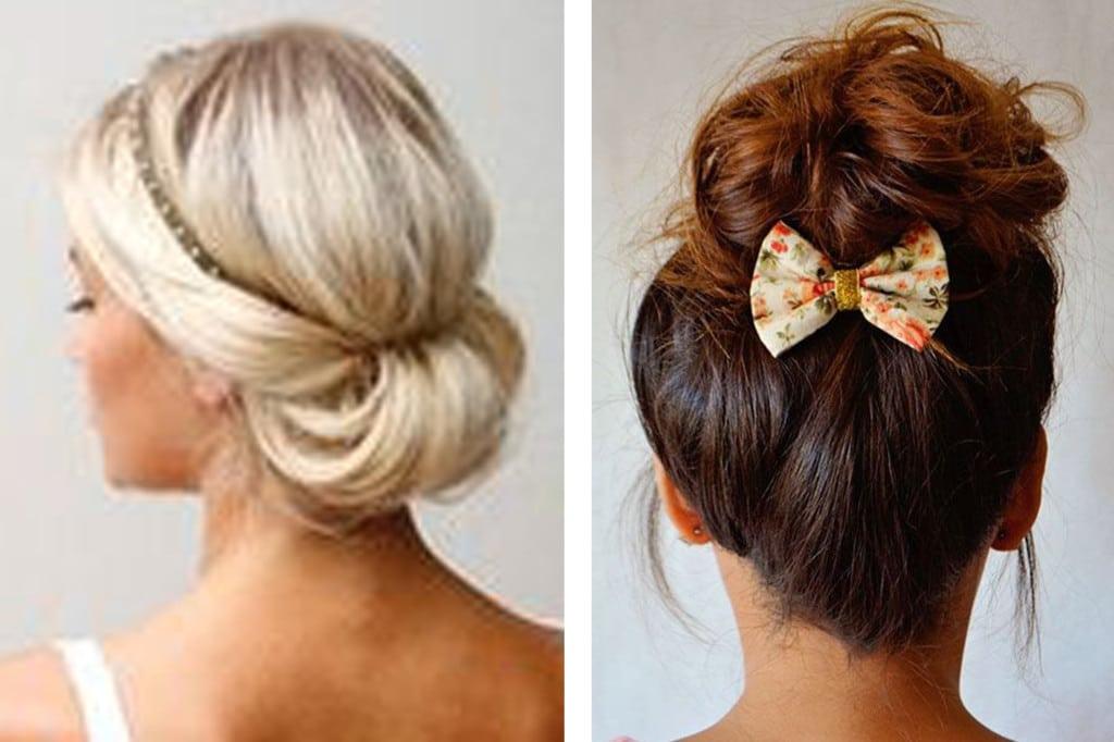 Coiffure mariage cheveux court invite