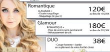 Forfait mariage coiffure