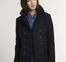 Caban femme, un manteau classique mais toujours tendance