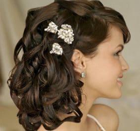 Model de coiffure pour mariage