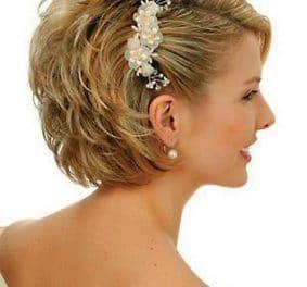 Modele de coiffure pour mariage cheveux court