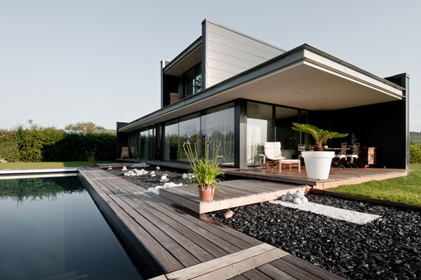 architecture contemporaine maison individuelle