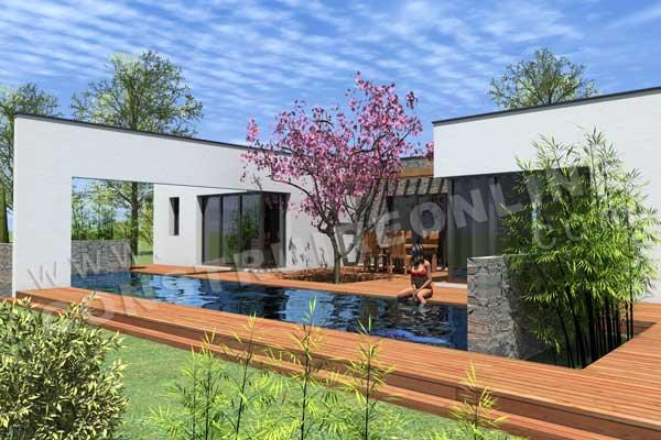 Architecture maison en u - Site d architecture gratuit ...