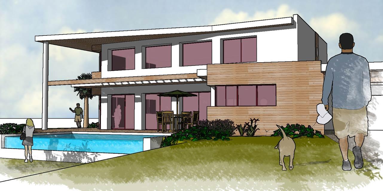 architecture maison simple. Black Bedroom Furniture Sets. Home Design Ideas