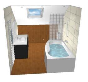 Concevoir sa salle de bain 3d