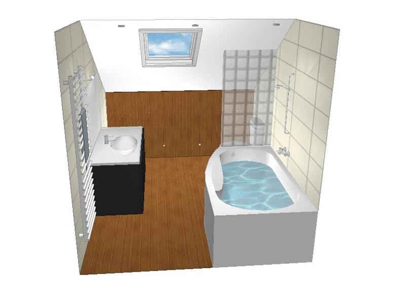 Concevoir sa salle de bain 3d - Concevoir salle de bain ...