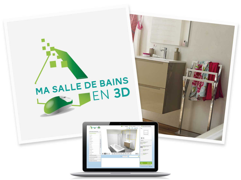 concevoir une salle de bain en 3d