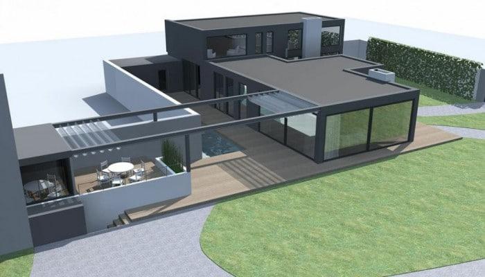 Constructeur maison d architecte for Architecte constructeur
