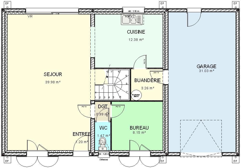 Construction plan maison - Plan pour construire maison ...