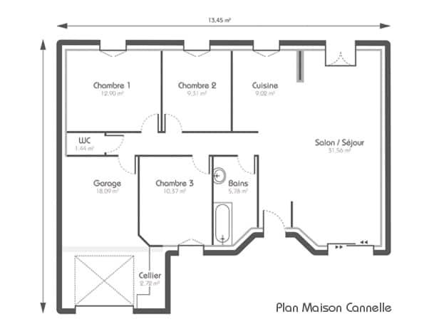 Construire maison plan