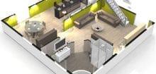 Construire sa chambre en 3d