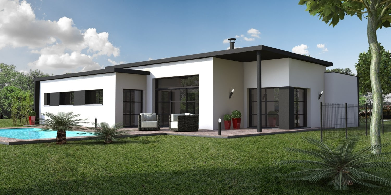 construire une maison moderne. Black Bedroom Furniture Sets. Home Design Ideas