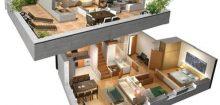 Cosy casa 3d