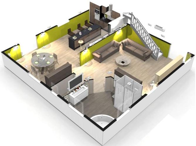 creer sa chambre en 3d. Black Bedroom Furniture Sets. Home Design Ideas