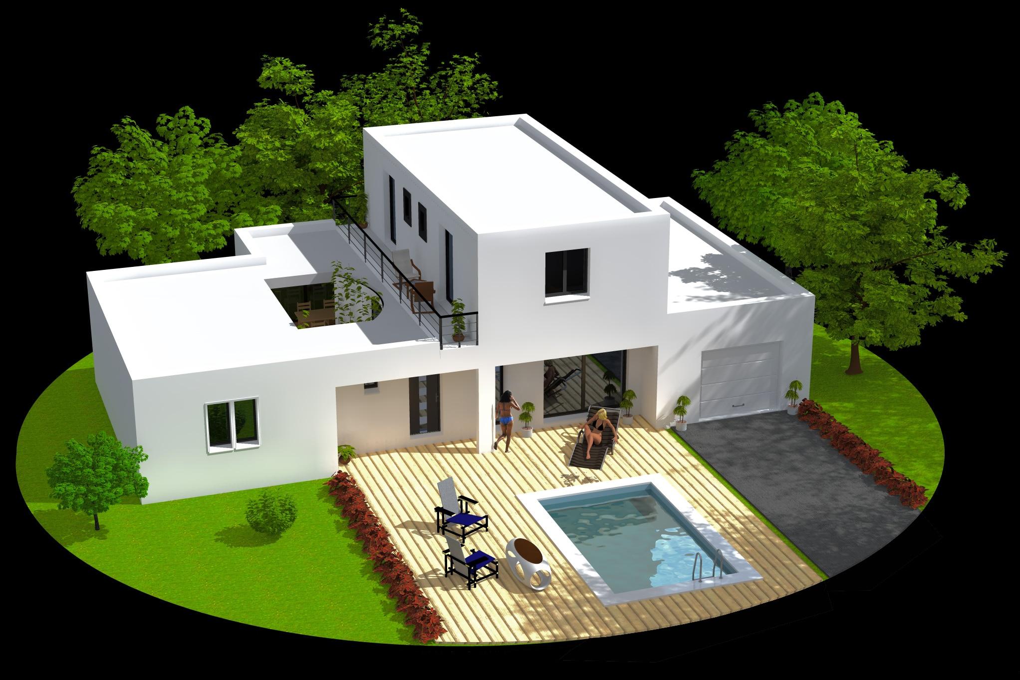 Cr er sa maison virtuel gratuit - Creer plan maison gratuit ...