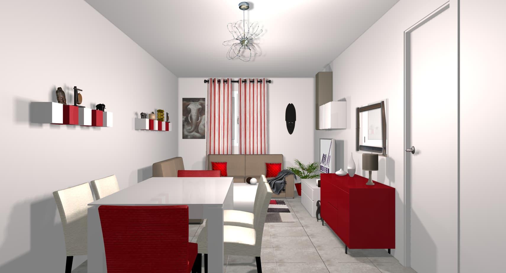 creer son salon 3d. Black Bedroom Furniture Sets. Home Design Ideas