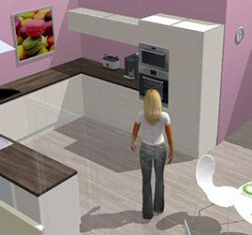 Cuisine en 3d en ligne