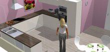 Cuisine en ligne 3d
