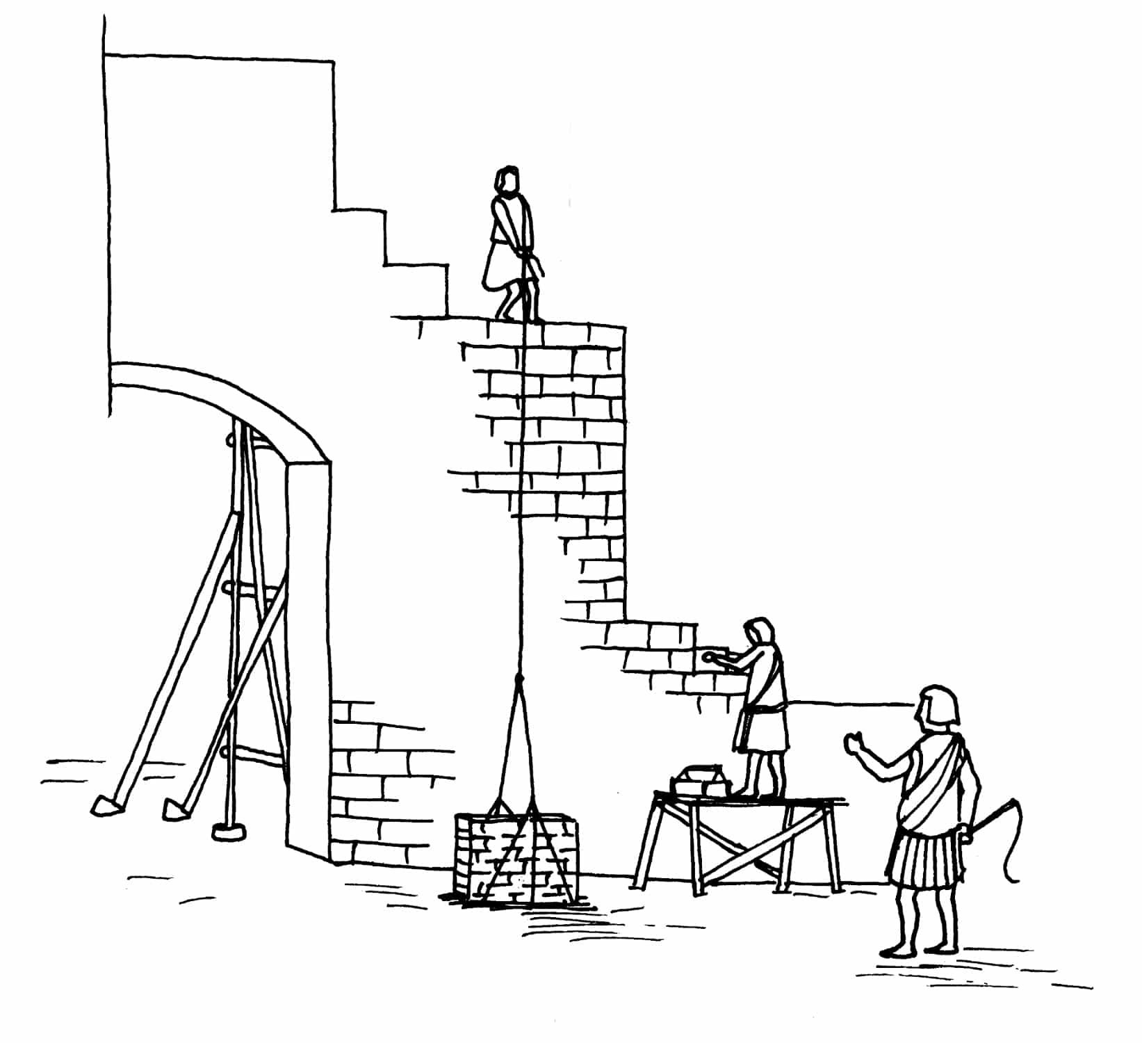 Dessin construction for Dessins de construction de maison