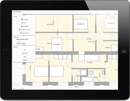 faire un plan appartement en ligne. Black Bedroom Furniture Sets. Home Design Ideas