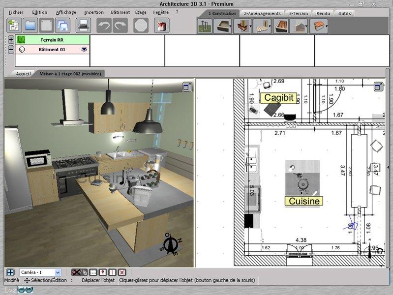 logiciel gratuit 3d architecture interieur - Logiciel Gratuit Architecture Interieur