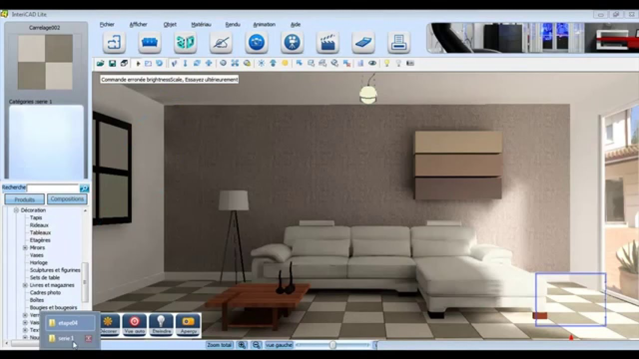 logiciel amenagement interieur 3d gratuit conceptions de la maison. Black Bedroom Furniture Sets. Home Design Ideas