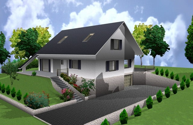Logiciel gratuit de construction de maison en 3d for Site de construction de maison 3d