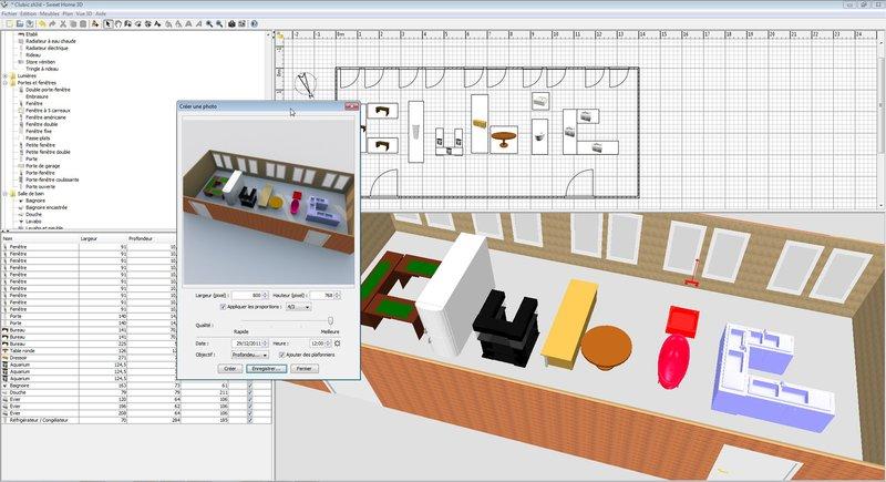 logiciel pour maison 3d gratuit. Black Bedroom Furniture Sets. Home Design Ideas