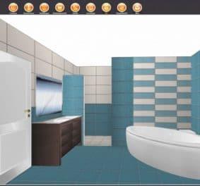 Logiciel pour salle de bain 3d