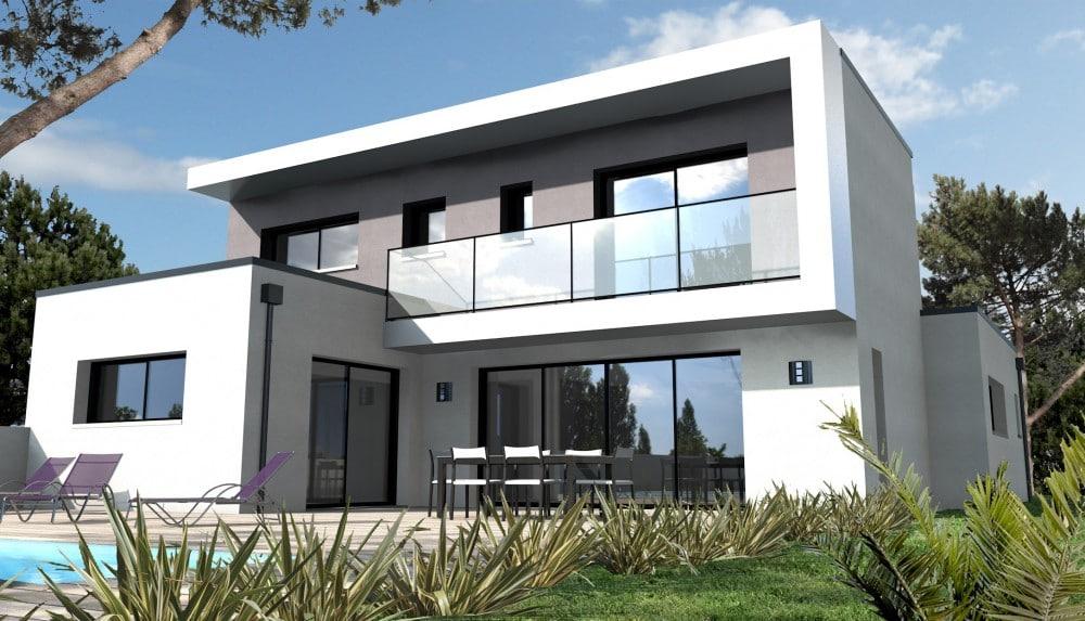 Maison a construire moderne for Budget pour construire une maison neuve