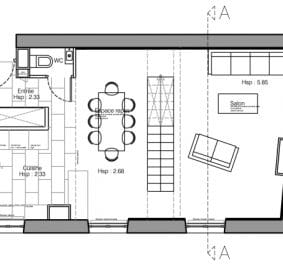 Plan architecte appartement