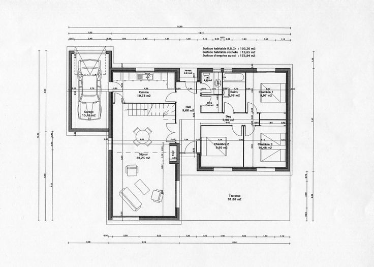 plan architecte en ligne. Black Bedroom Furniture Sets. Home Design Ideas