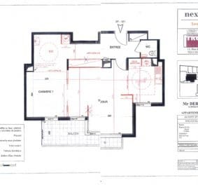 Plan architecte interieur