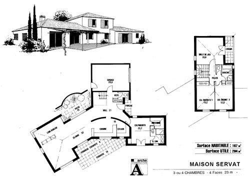 Plan architecte maison pdf for Architecte plan de maison