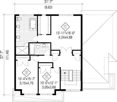 plan architectural maison