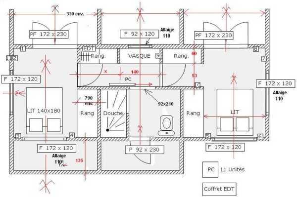 plan architecture 2d gratuit. Black Bedroom Furniture Sets. Home Design Ideas