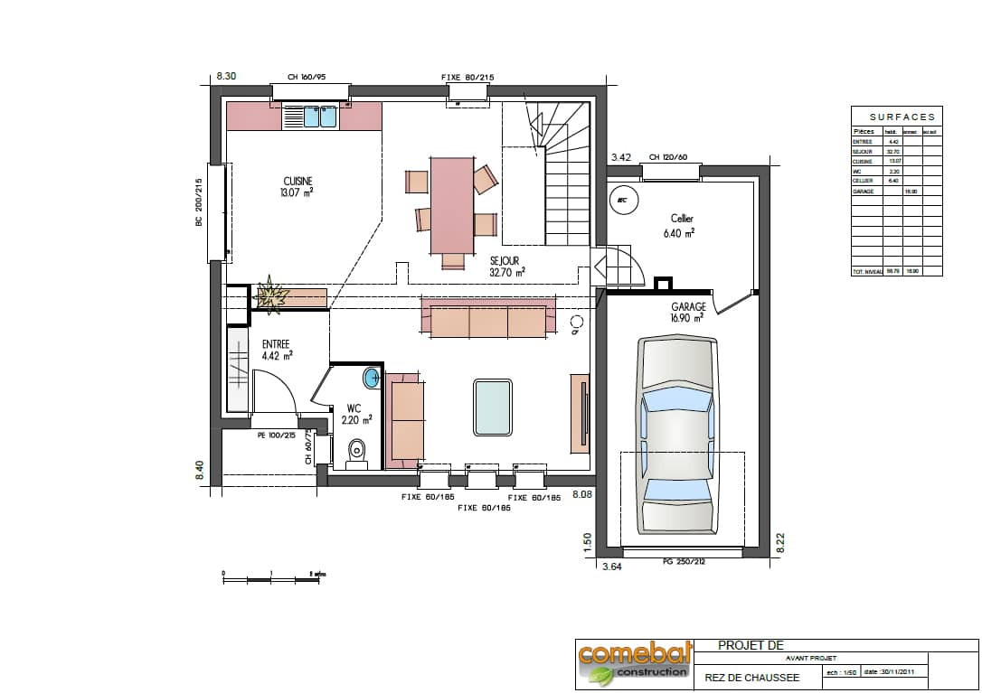 Plan constructeur maison individuelle for Construction maison plan