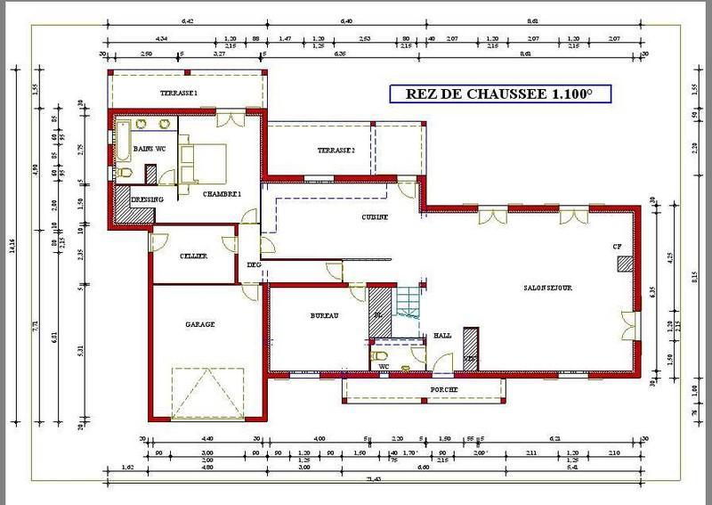 Plan construction maison individuelle gratuit
