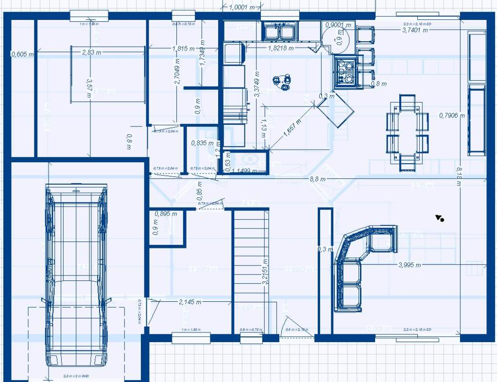 Plan de construction d une villa for Plans et dessins de construction