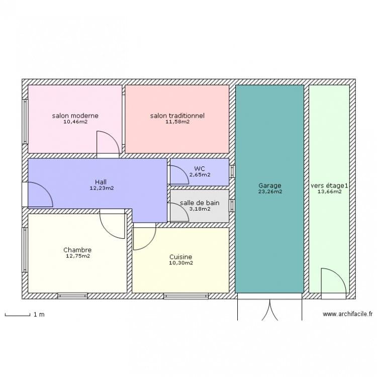 Plan de construction de maison gratuit au maroc