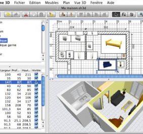 Plan maison en 3d logiciel gratuit