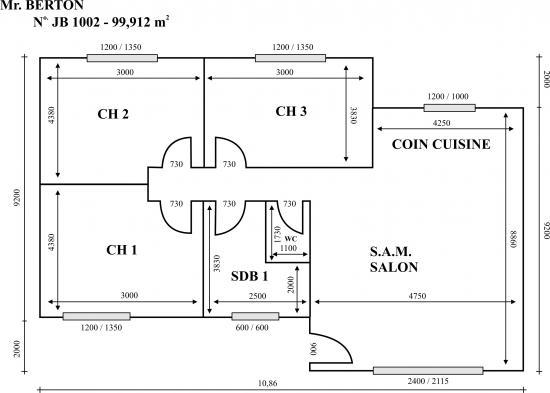 Plans de construction de maison gratuit for Plan de construction de maison gratuit
