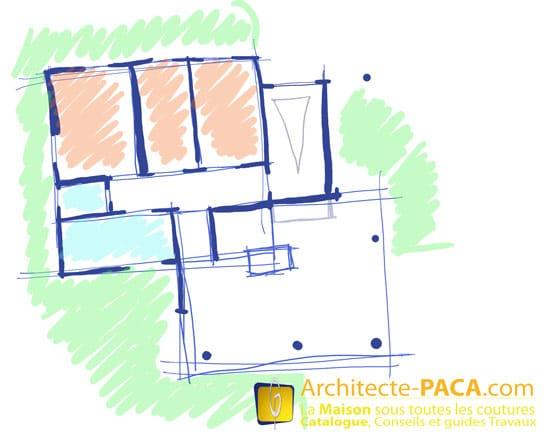 prix architecte plan maison