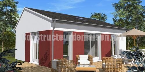 Prix construction maison 60m2 for Construction maison architecte prix