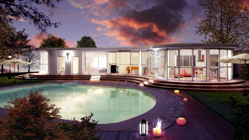 prix maison d architecte. Black Bedroom Furniture Sets. Home Design Ideas