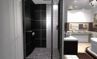 Projet salle de bain 3d