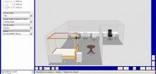 Simulateur pièce 3d