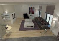 Simulation 3d salon