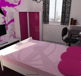 Simulation chambre 3d